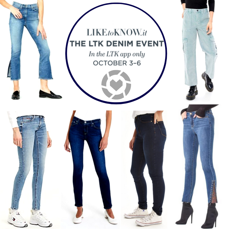 denim jeans for the Liketoknow.it denim sale