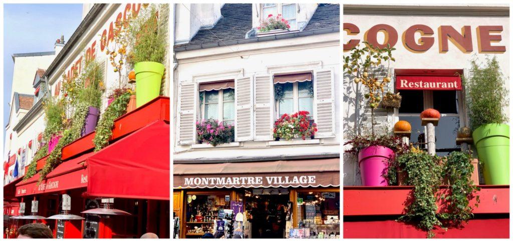 Monmarte village Paris