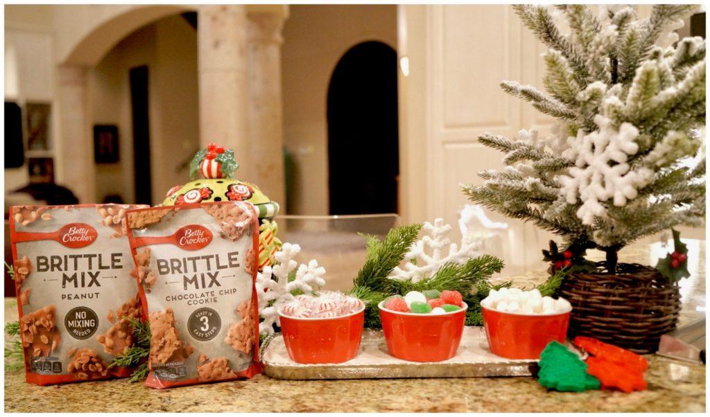 Betty Crocker Brittle Mix packages