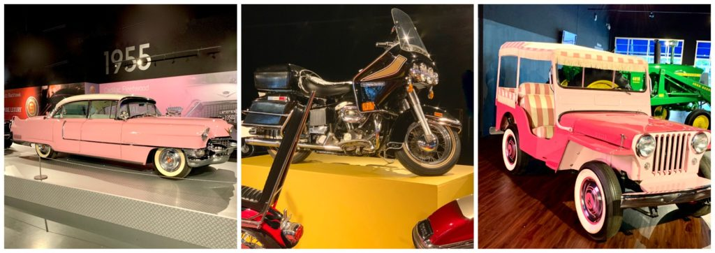 Elvis Presley's cars and motorcycle