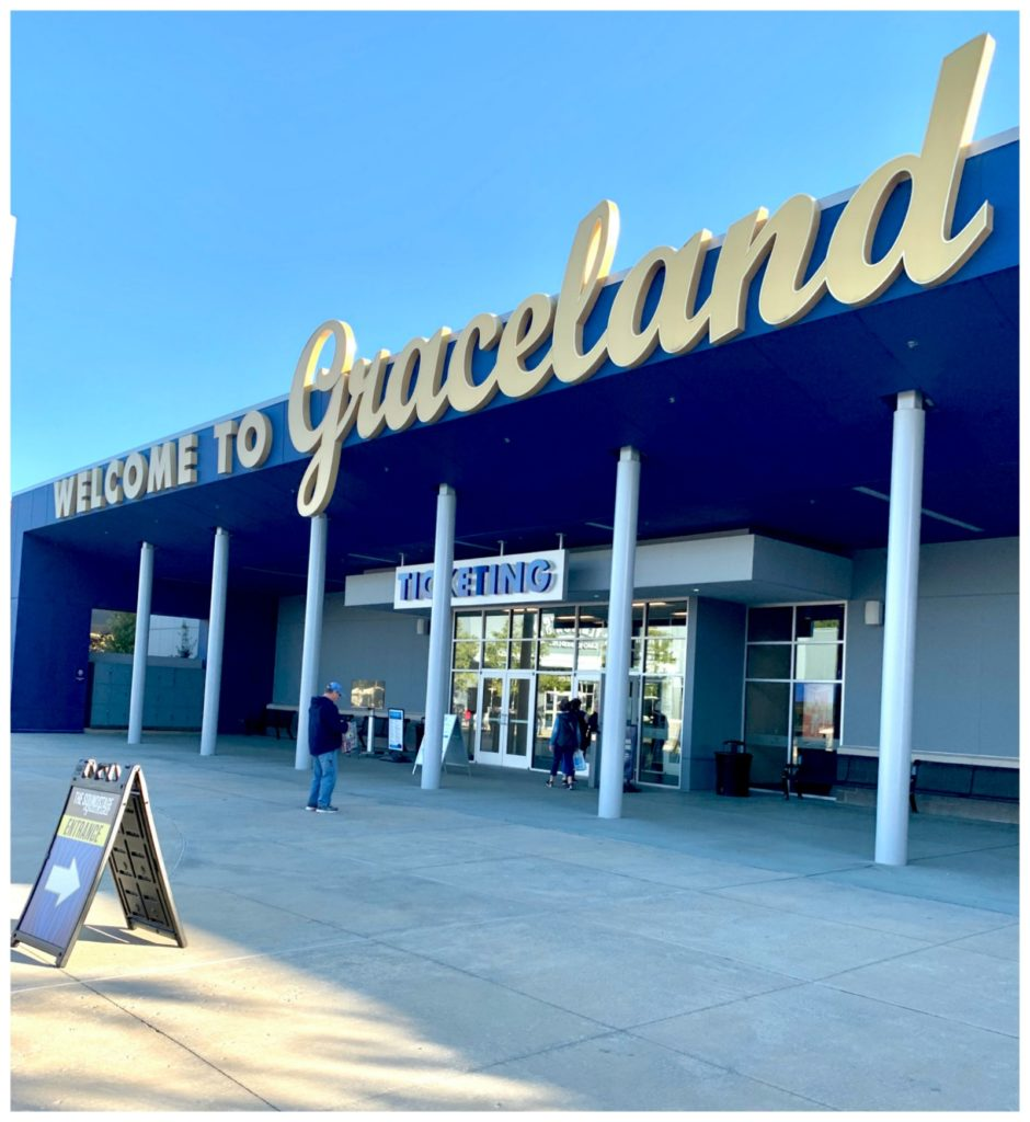 Graceland sign at entrance
