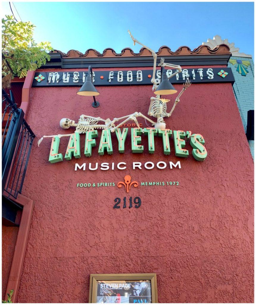Lafayette's Restaurant signage