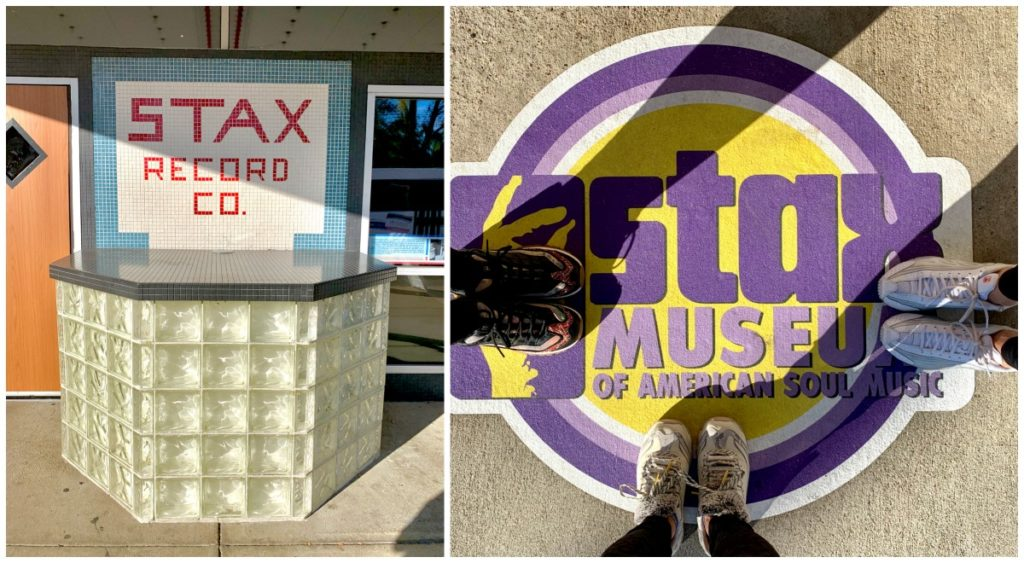 Front signage at Stax museum