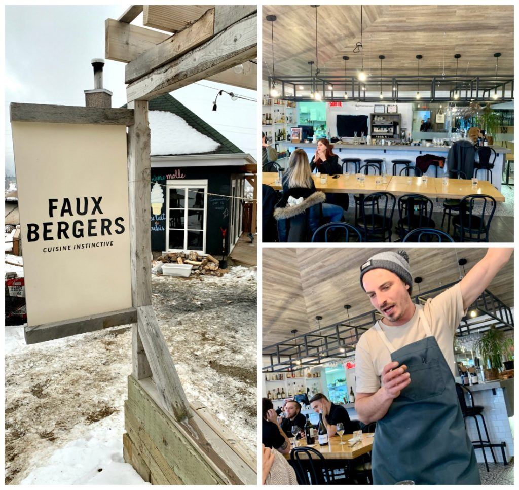 3 photos of Faux Bergers restaurant and chef