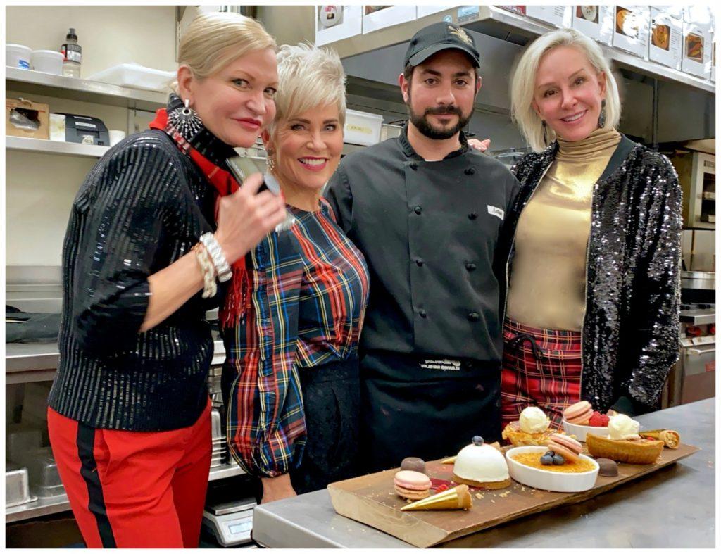 Le Saint Laurent restaurant and dessert by chef