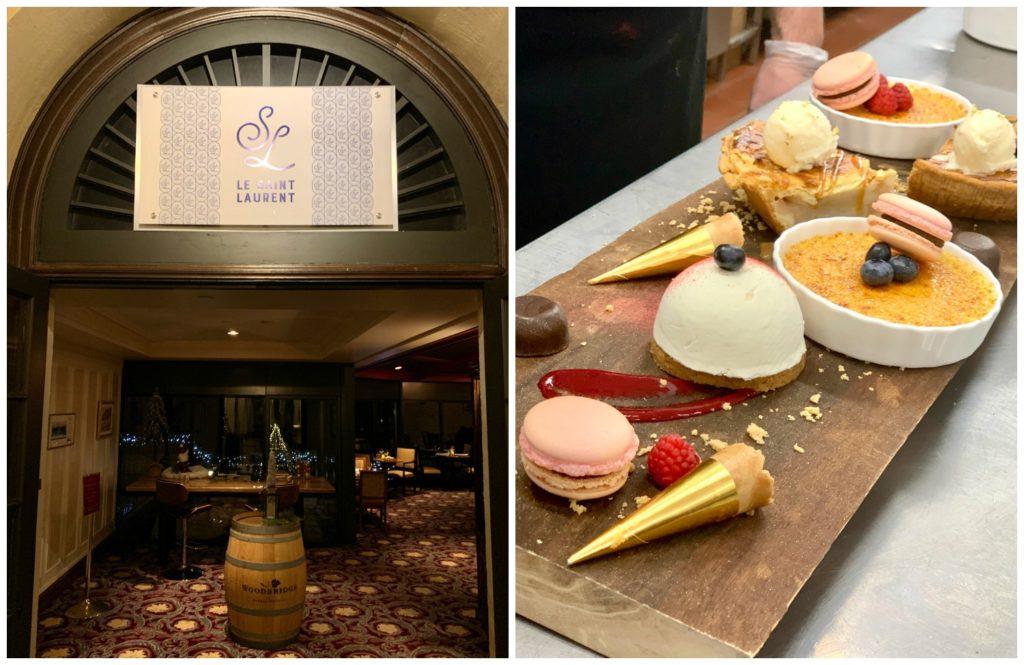 Le Saint Laurent restaurant and dessert