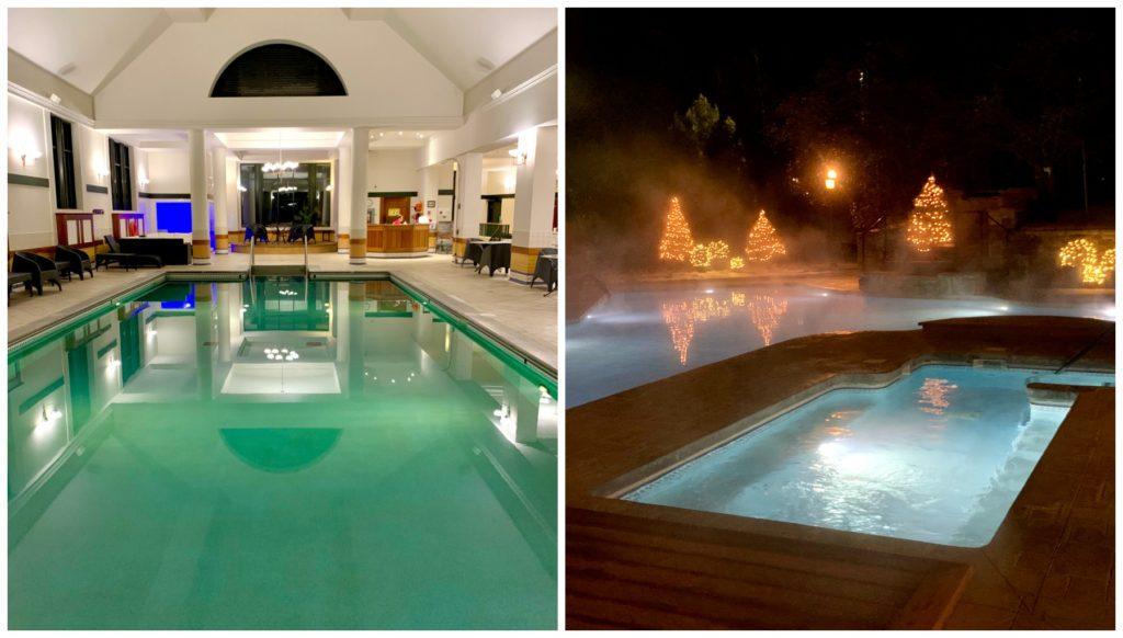 Le Manoir Richelieu Indoor and outdoor pools