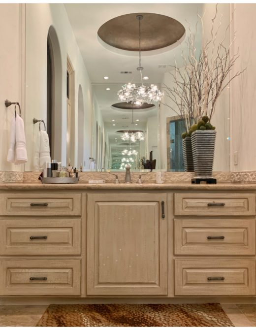 Photo of bathroom vanity