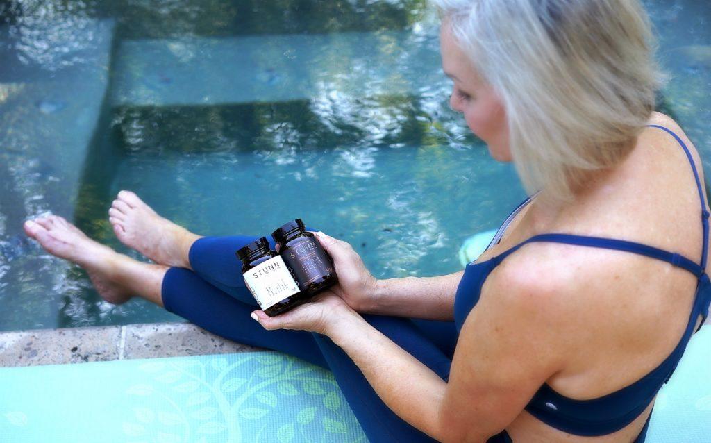 supplements wearing yog wear