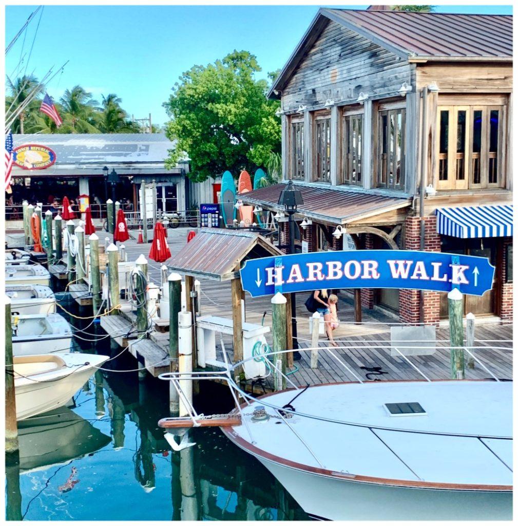 Harbor walk in Key West, FLA