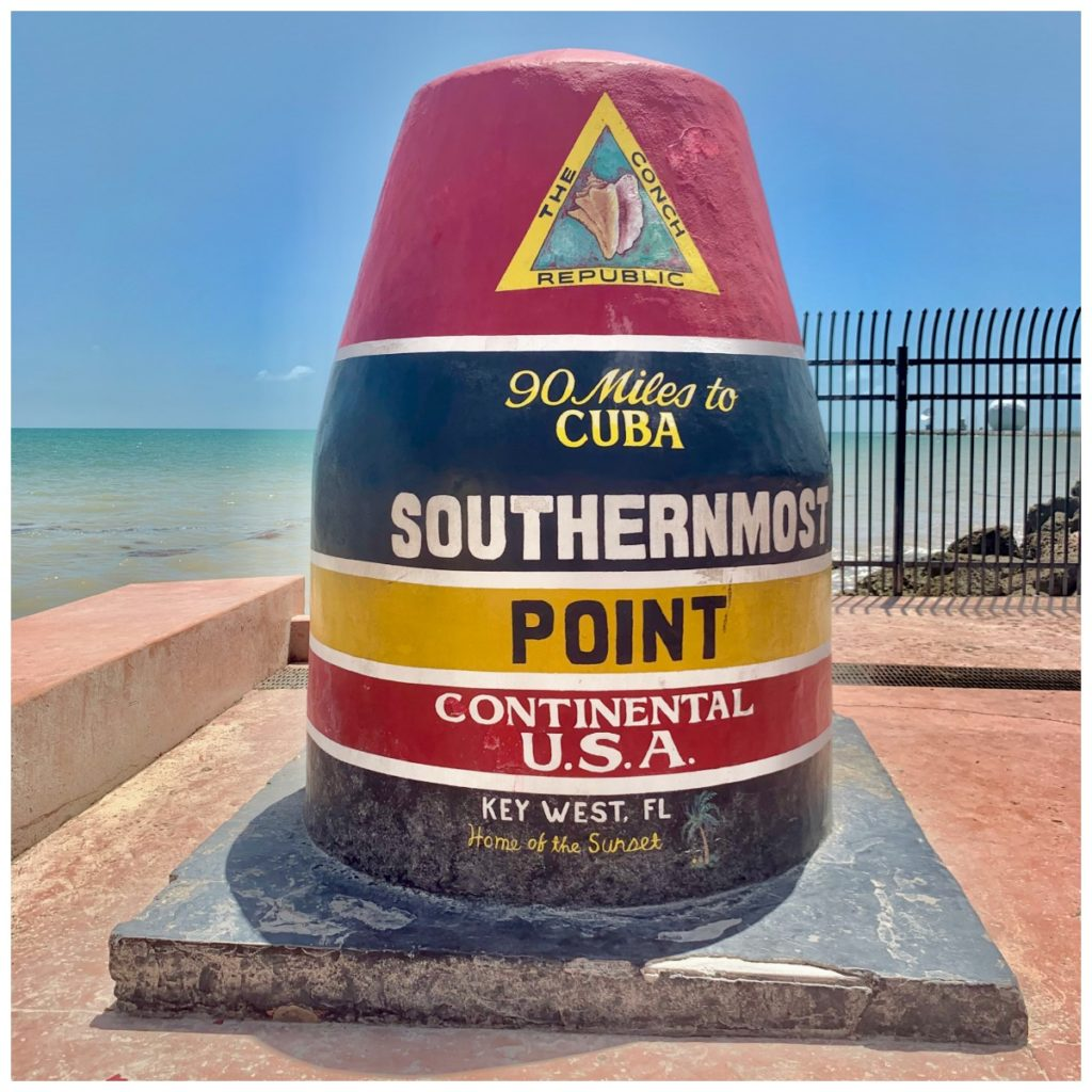 Southern most point buoy in Key West