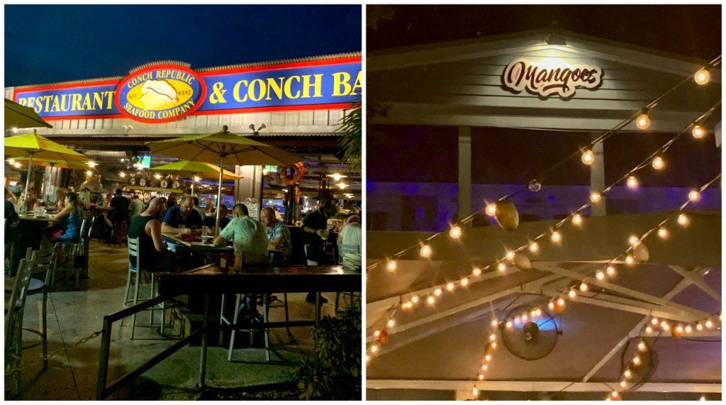 Conch Republic and Mango Restaurant in Key West