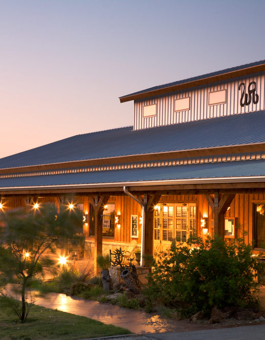 Dude ranch ranch house