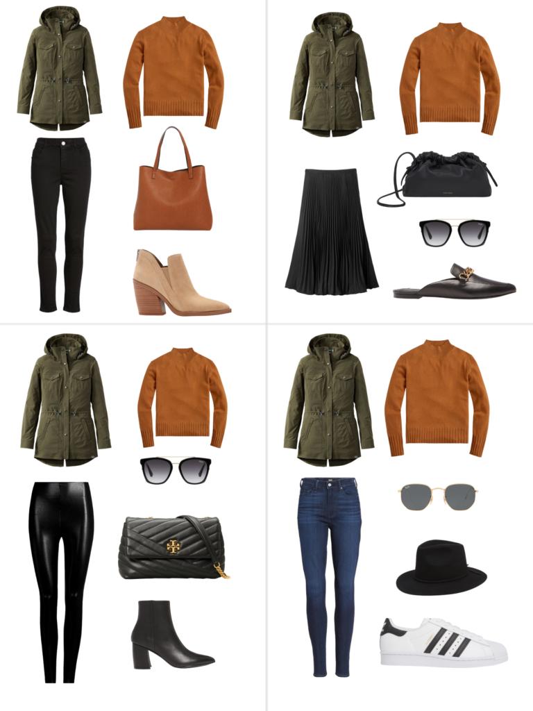 Fall Capsule Wardrobe 2020