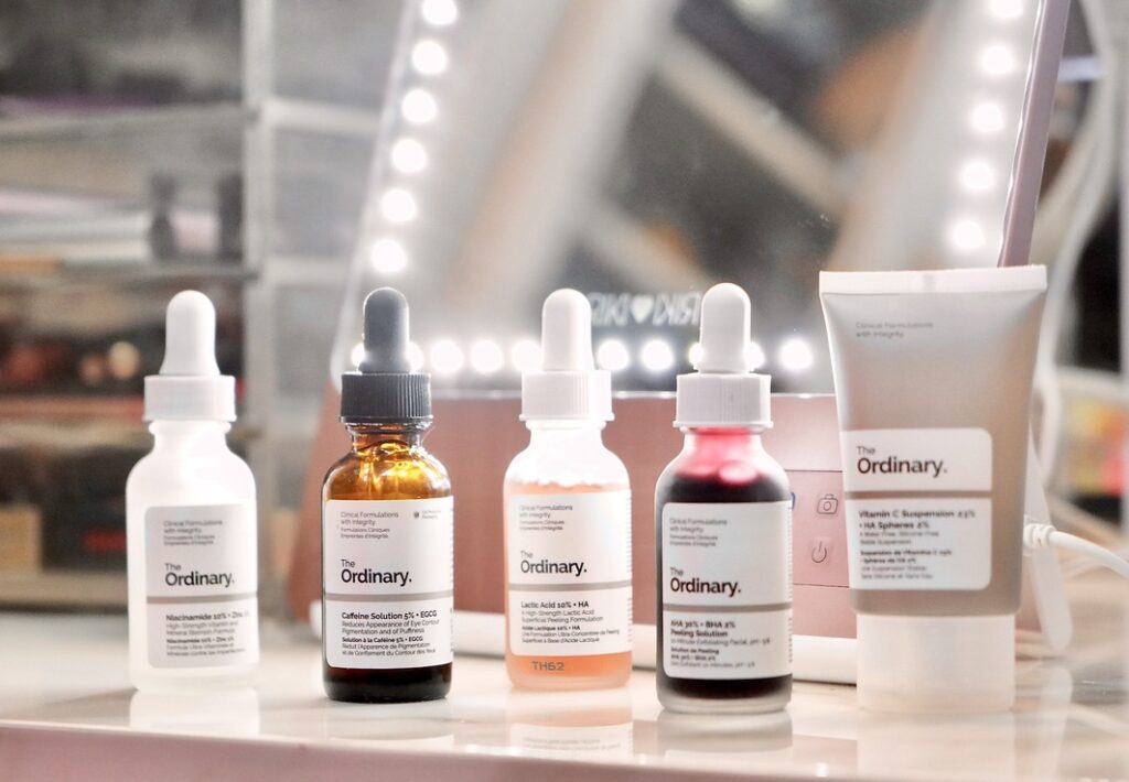Product Shot of The Ordinary Skin Care Products