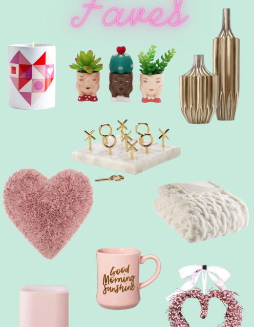 Friday Faves Collage Valentine's DAy decor