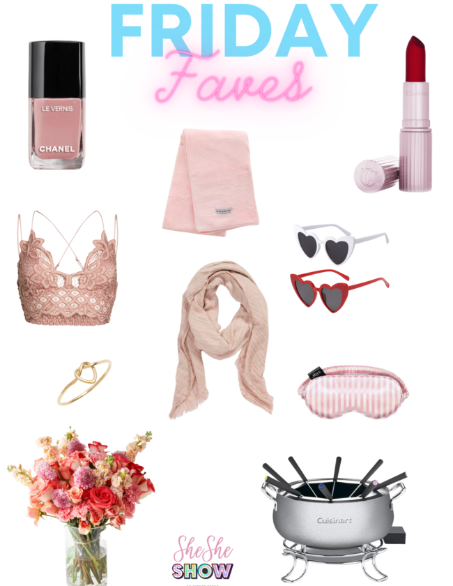 Friday Faves Collage Valentine's DAy gifts