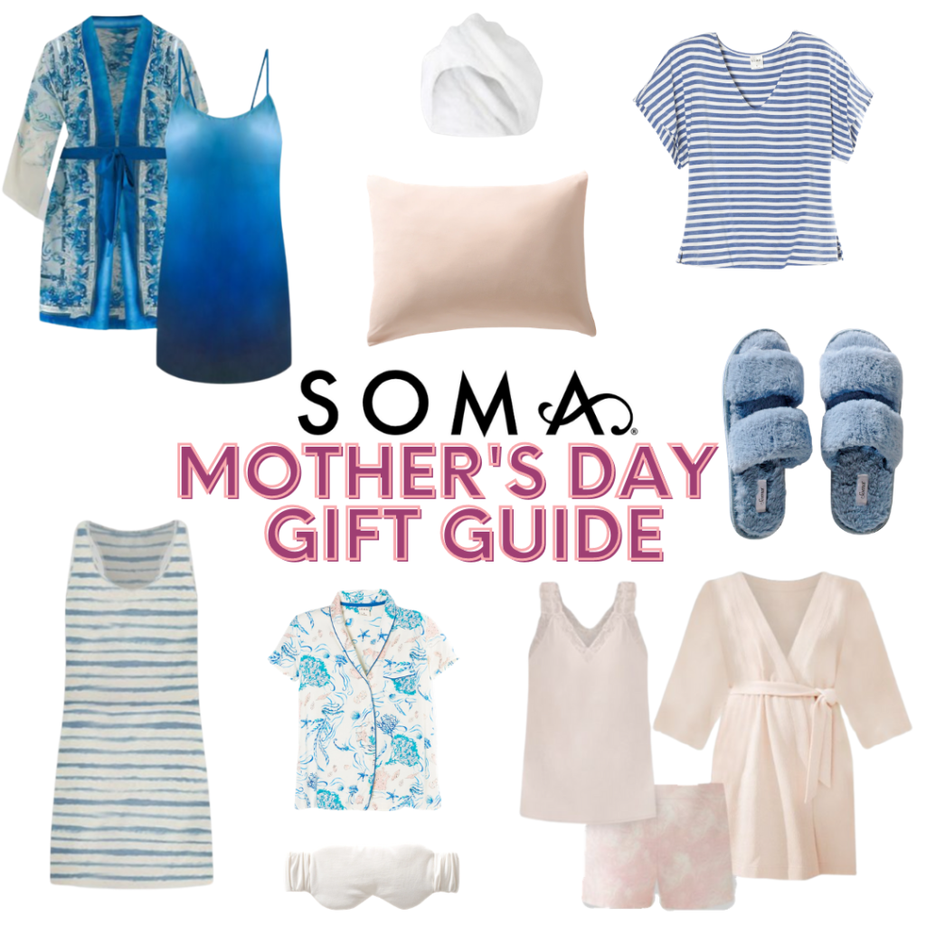 Soma Mother's Day gift guide collage