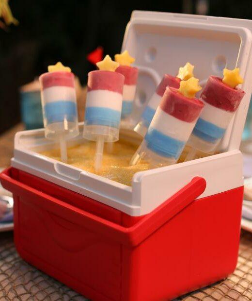 Frozen Firecracker dessert