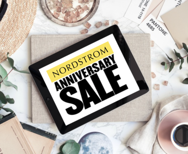 Photo of Nordstrom Anniversary sale sign