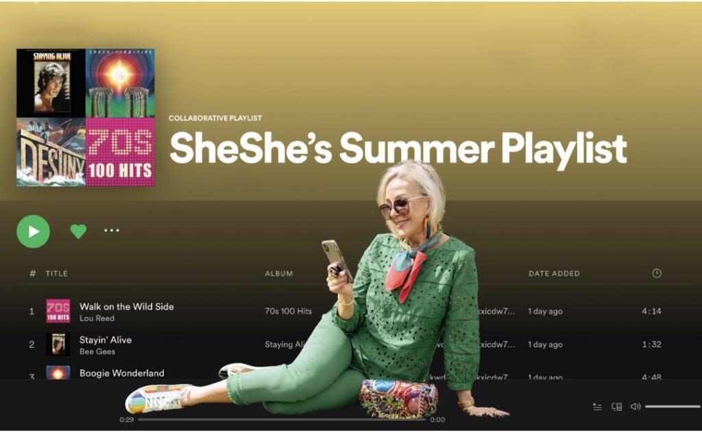 SheShe's Summer Playlist