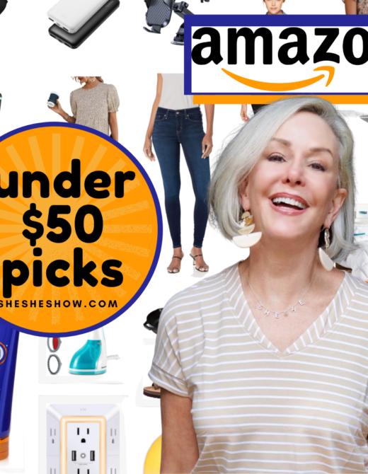 Amazon under $50 collage