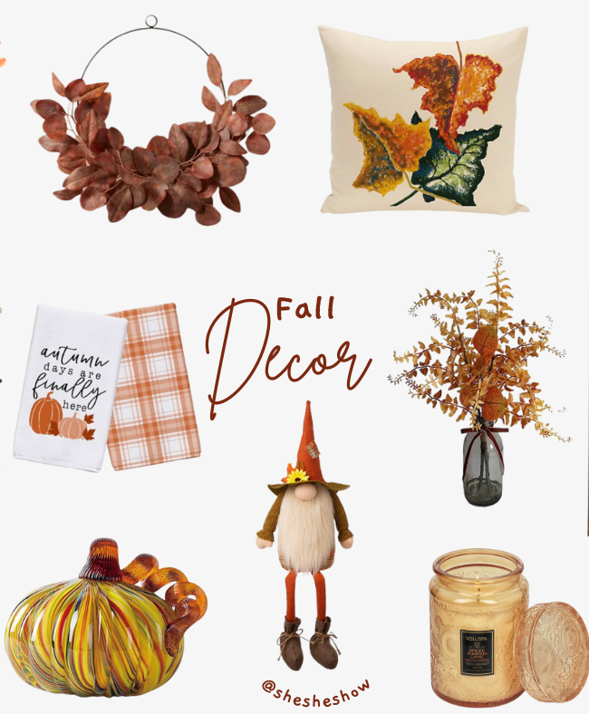 Fall Decor Collage