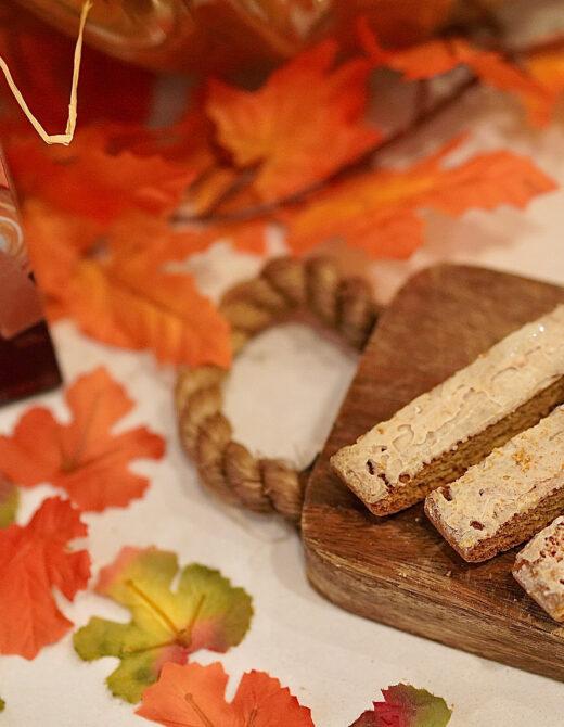 Nonni's pumpkin & spice biscotti's